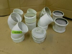 PLASTIC FITTINGS 3'' AND 4'' SIZE
