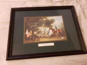 prints by george stubbs---very old$150.00 for both--obo from bom