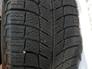 SET OF 215 60 16 WINTER TIRES ON RIMS