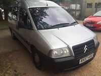 Citreon dispatch wheelchair vehicle 2007 57 Reg one owner fsh years mot 143k miles