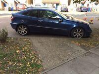 Mercedes coupe c class c220 auto diesel HPI clear quick sale