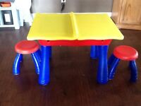 Crayola table and stools
