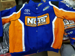 BRAND NEW XL NASCAR NOS racing jacket hat and tshirt bundle
