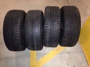 4 Michelin x-ice winter tires R17  West Island Greater Montréal image 1