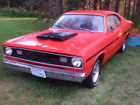 1971-360 Duster With Headers, Dual Exhaust, & POWERWFULL