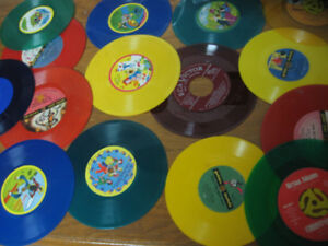 , 45's and colored vinyl for sale