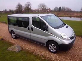 2014 / 14 Vauxhall VIVARO 2900 COMBI CDTI LWB NINE SEAT MINIBUS