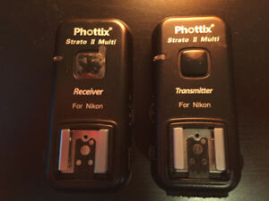 Phottix Strato II Wireless Flash Trigger for Nikon