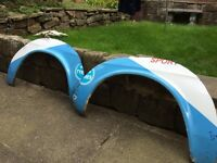 Mk1 escort Mexico front flared arches
