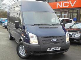 2014 FORD TRANSIT HIGH ROOF JUMBO AIR CON AND NAV