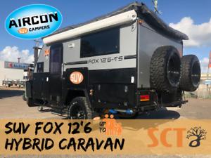 "NEW 2018 SUV FOX 12'6"" Caravan Edmonton Cairns City Preview"