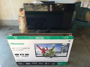 "42"" Hisense FULL HD (2month old) London Ontario image 1"