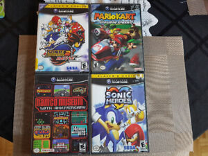 4 Game Cube Games
