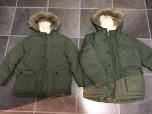 2 BRAND NEW winter jackets size 6/7 and 8 (Old Navy) $40/each fi