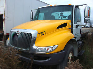 PARTING OUT International 4300, 2010, Yellow, #5453