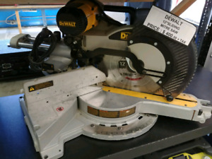 "Dewalt 12"" sliding mitre saw"