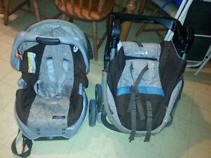 GRACO CLASSIC CONNECT CAR SEAT/STROLLER COMBO