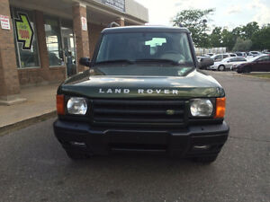 1999 Land Rover Discovery II SUV, Crossover