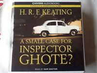 AUDIOBOOK H.R.KEATING. A SMALL CASE FOR INSPECTOR GHOTE?