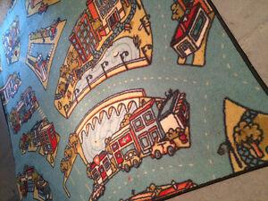 5x5 kids designer rug