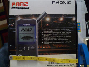 Phonic PAA2 Handheld audio spectrum analyser