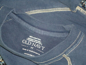 Boys Size 5 Solid Navy Old Navy Long Sleeve T-Shirt Kingston Kingston Area image 3