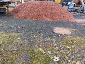 Red chips 20mm garden paths driveways