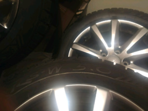 ***SNOW WINTER TIRES AND RIMS 205/55/16***