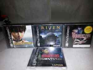 4 rare PlayStation game's
