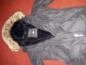 Black TNA winter jacket. Large size