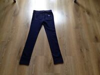 Blue leggings by Guess Jeans age 9-10 girls clothes clothing