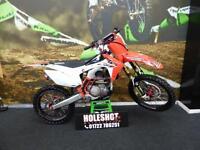 Honda CRF 250 Motocross bike GEICO Edition