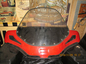 oem honda windshield off a 680 rincon and 2 up seat