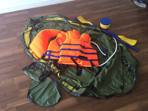Inflatable Boat w/ Accessories