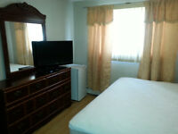 Furnished Room for rent in 2 bedrooms apt.