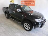 2012 Mitsubishi L200 2.5DI-D EU 5 4X4 Double Cab Pickup Barbarian LEATHER TRIM