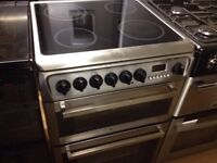 Silver 60cm Hotpoint electric cooker