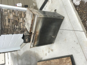 Used wood fired hot tub stove