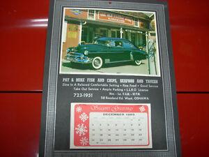 1990 calendar Pat and Mike's Oshawa Peterborough Peterborough Area image 2