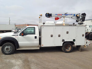 2012 Ford F-550 Service Body Pickup Truck