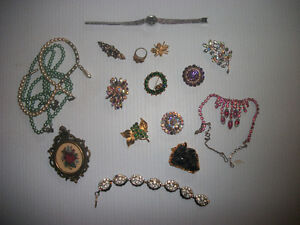 $5 each piece Vintage Costume Jewellry