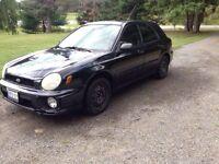 2003 Subaru Impreza AWD 5 speed manual