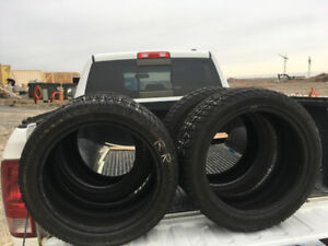 """Winter tires.  17"""" Cooper.  Only used for one season."""