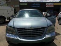 2004 Chrysler Pacifica Touring SUV, Crossover ONLY148000km