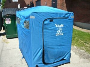 CLAM 2000 TWO MAN PORTABLE ICE FISHING HUT