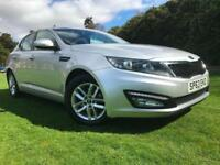 *12 MTHS WARRANTY*2013(63)KIA OPTIMA 1.7 CRDI 1ISG 4DR WITH ONLY 12,000 MILES*