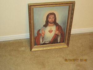 PICTURE OF JESUS-ESTAATE SALE