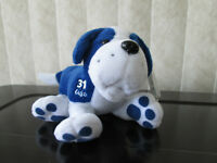Planet Plush Tie Domi Bulldog