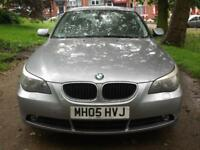 BMW 530 3.0 auto 2005MY i SE 12 MONTHS MOT AND 12 MONTHS WARRANTY CHEAP CAR