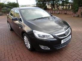 VAUXHALL ASTRA 1.7 se cdti 2011 Diesel Manual in Black